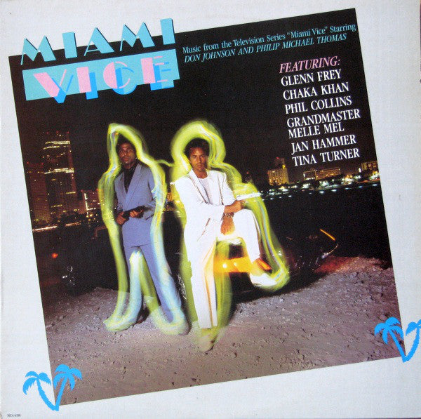 Miami Vice (Music From The Television Series)-1985-Synth-pop ,soundtrack (vinyl )