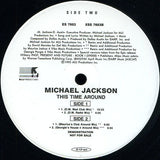 "Michael Jackson ‎– This Time Around - 2 lps -1995-Electronic House (2 × Vinyl, 12"", Promo, 33 ⅓ RPM )"