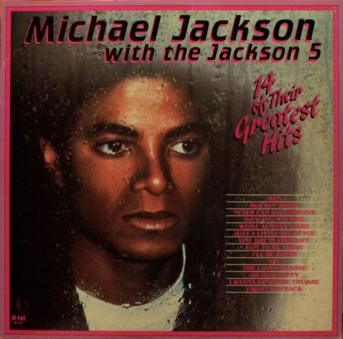 Michael Jackson With The Jackson 5 ‎– 14 Of Their Greatest Hits -1983-Funk / Soul, Pop ,Rhythm & Blues, Soul (Vinyl) with Untouched Poster!