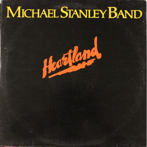 Michael Stanley Band ‎– Heartland -1980 Classic Rock (vinyl)