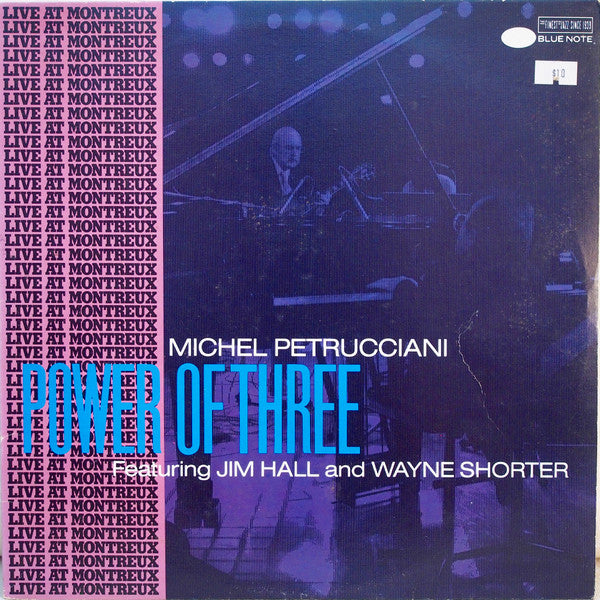 Michel Petrucciani ‎– Power Of Three -1987  Post Bop, Contemporary Jazz (vinyl)