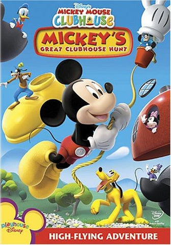 Mickey Mouse Clubhouse: Mickey's Great Clubhouse Hunt (Bilingual) Mint Used DVD