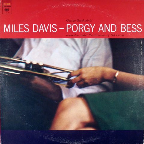 Miles Davis ‎– Porgy And Bess - 1977-Jazz , Big Band, Modal (vinyl)