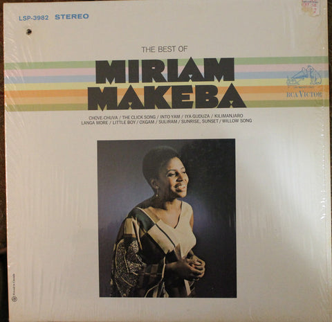 Miriam Makeba ‎– The Best Of Miriam Makeba -1968 - Afrobeat, Folk, Vocal, African (rare vinyl)