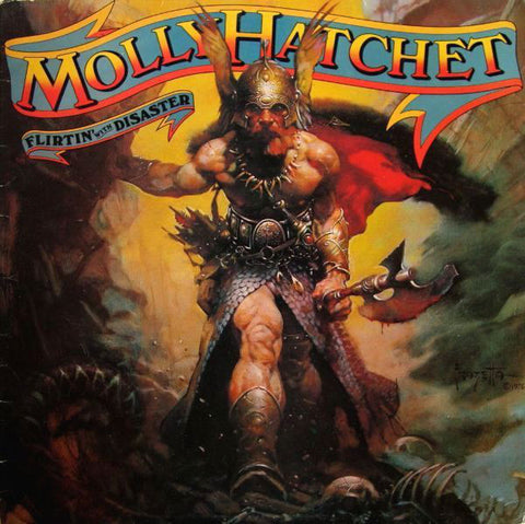 Molly Hatchet ‎– Flirtin' With Disaster -179-Heavy Metal (vinyl)