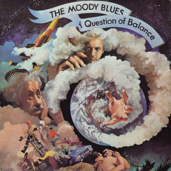Moody Blues ‎– A Question Of Balance - 1970- Prog Rock (Clearance Vinyl) NO COVER