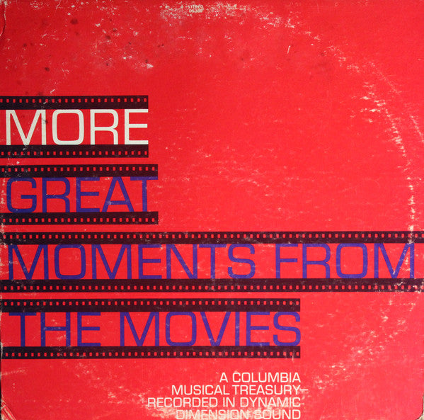 More Great Moments From The Movies -1968-Classical, Stage & Screen (vinyl)