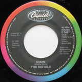 "The Motels ‎– Shame - 1985- Soft Rock, Synth-pop - Vinyl, 7"", 45 RPM, Single"