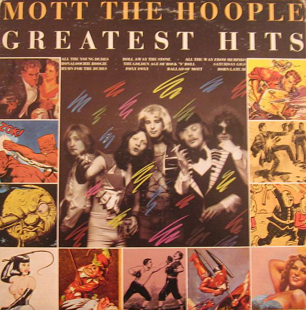 Mott The Hoople ‎– Greatest Hits-1976-Rock & Roll, Glam (vinyl)