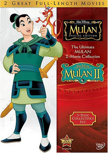 Mulan and Mulan II (The Ultimate Mulan 2-Movie Collection) DVD Set