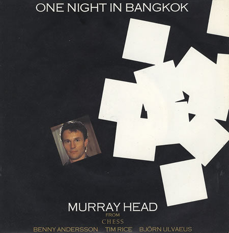 "Murray Head / The London Symphony Orchestra ‎– One Night In Bangkok / Merano -1984 - Synth-pop (12""vinyl)"