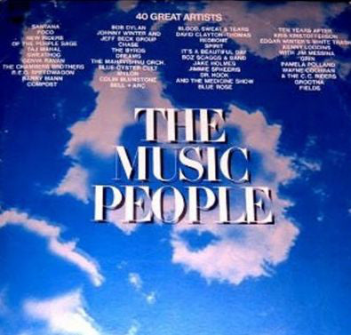 Music People - 1972 - 3 lp - Santana,Beck,Dylan, Ten Years After ++