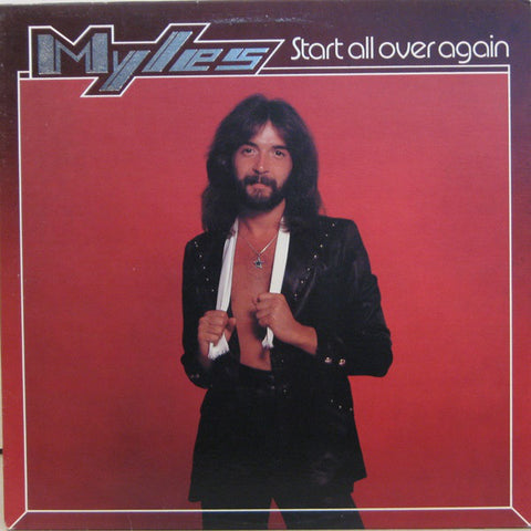 Myles ‎– Start All Over Again - 1979 - Rock, Pop (clearance vinyl) . dog earred corner