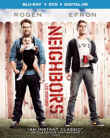 Neighbors [Blu-ray + DVD + UltraViolet]