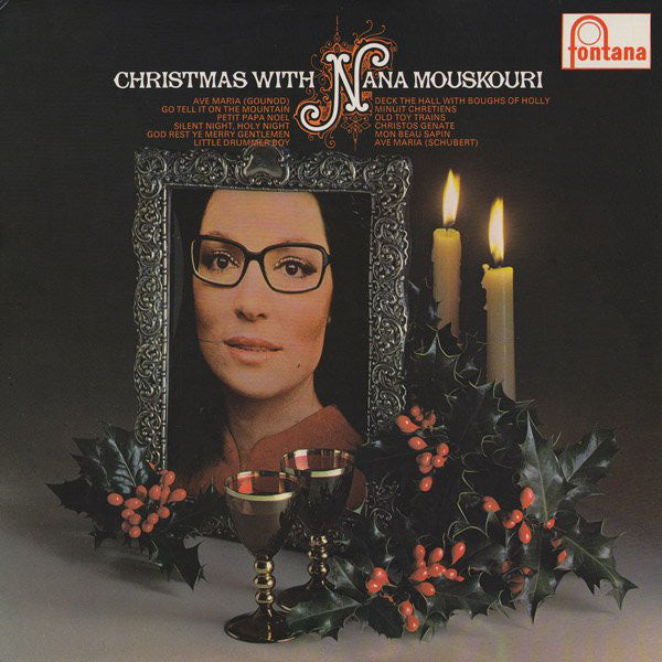 Nana Mouskouri ‎– Christmas With Nana Mouskouri -1972 Pop Vocal (vinyl)