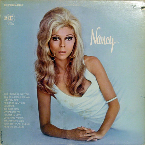 Nancy Sinatra ‎– Nancy- 1969-  Pop Rock, Country Rock, Vocal   (Clearance Vinyl)