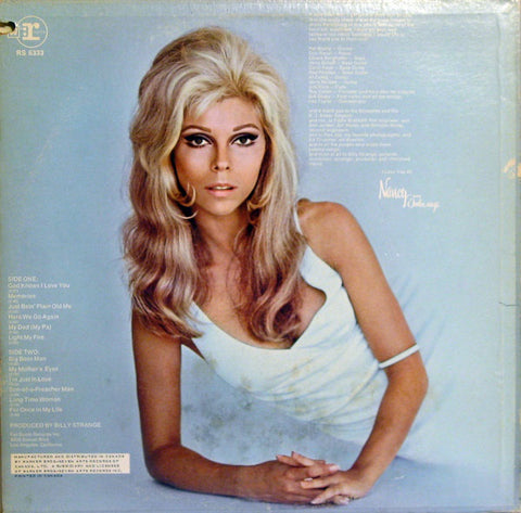 Nancy Sinatra ‎– Nancy- 1969-  Pop Rock, Country Rock, Vocal  (vinyl)