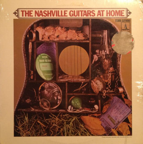 Nashville Guitars ‎– The Nashville Guitars At Home - 1968-Folk, World, & Country (vinyl)