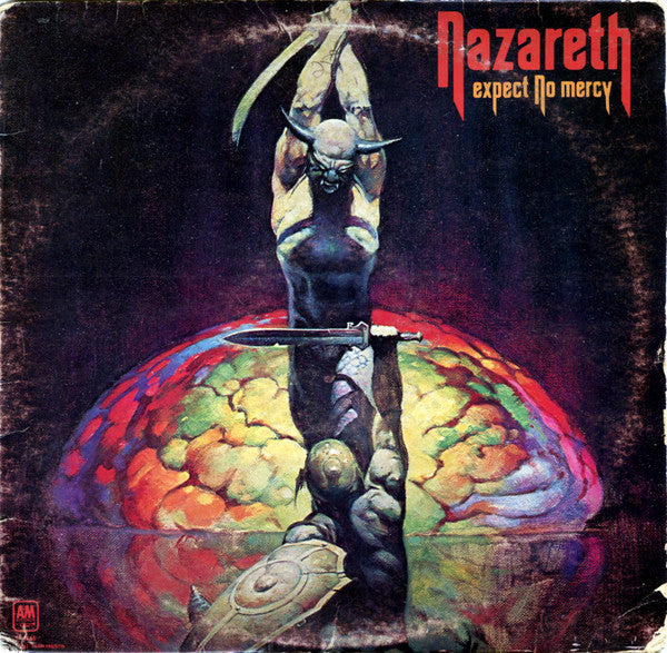 Nazareth – Expect No Mercy -1977- Hard Rock, Classic Rock (vinyl) Heavy ring wear/ excellent vinyl