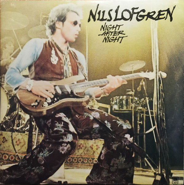 Nils Lofgren ‎– Night After Night -1977- Rock, Blues ( Clearance Vinyl ) Only record # 1 of 2 lp set