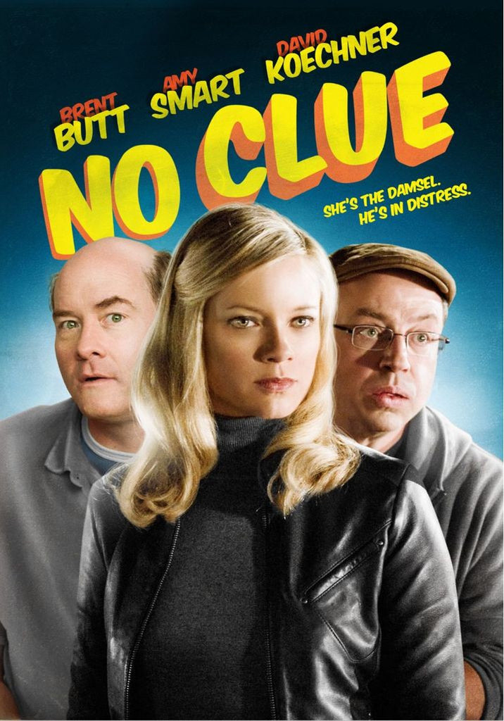 No Clue- Amy Smart , Brent Butt DVD New Sealed
