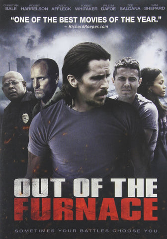 OUT Of The FURNACE DVD ( new) Christian Bale