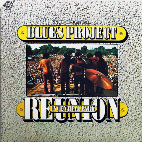 Original Blues Project, The ‎– Reunion In Central Park -1973-2 lps -  Blues Rock, Louisiana Blues (clearance vinyl)