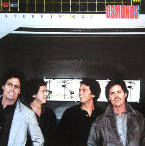 Osmonds , The ‎– Steppin' Out -1979 -   Electronic, Rock, Leftfield, Disco (vinyl)