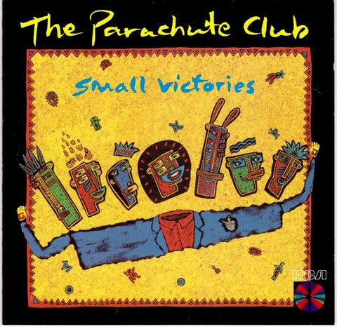 Parachute Club ,The ‎– Small Victories -1986 pop Rock ( vinyl )