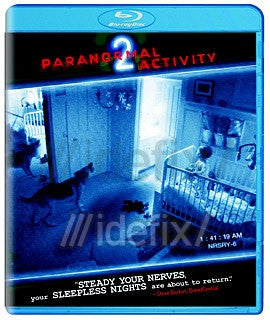 Paranormal Activity 2 (Blu-ray) Mint Used