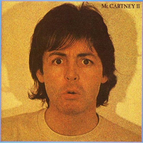 Paul McCartney ‎– McCartney II - 1980 -  Pop Rock, Experimental (vinyl)