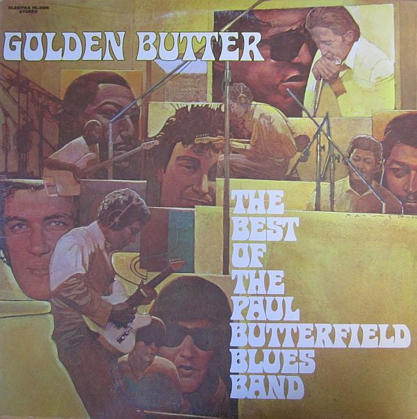 Paul Butterfield Blues Band ‎– Golden Butter / The Best Of The Paul Butterfield Blues Band 2lps (vinyl)