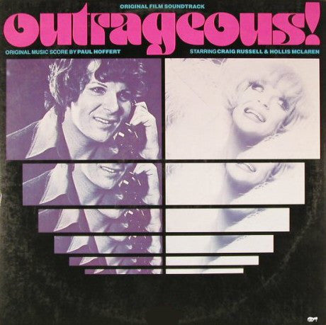 Paul Hoffert ‎– Outrageous!: Original Film Soundtrack -1977-Piano Blues (vinyl)