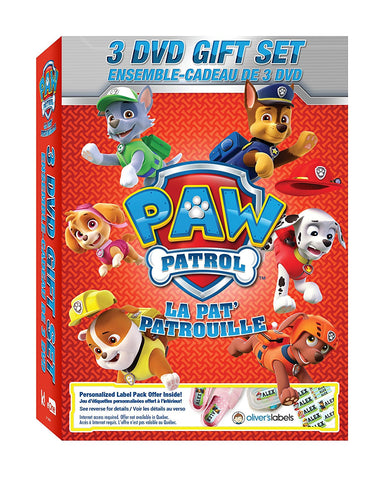 Paw Patrol - 3 Dvd Gift Set (Mint Used)