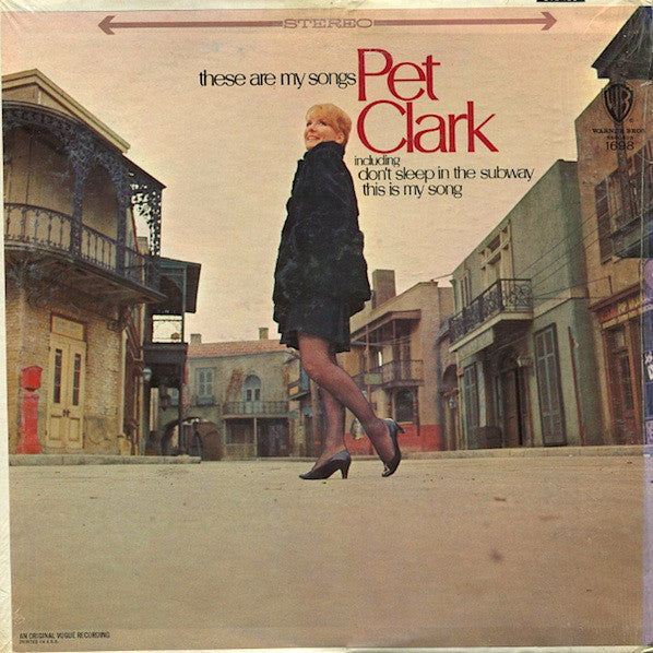 Pet Clark ‎– These Are My Songs - 1967 - Pop (vinyl)
