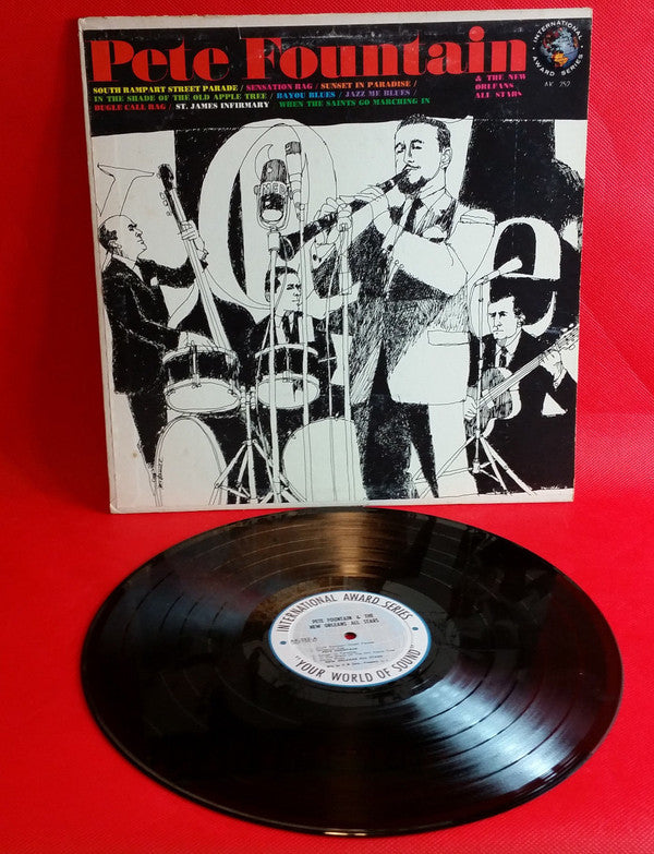 Pete Fountain ‎– Pete Fountain & The New Orleans All Stars - 1966 - Dixieland jazz (Rare Vinyl)