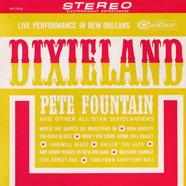 Pete Fountain ‎– Dixieland (Live Performance In New Orleans) 1962 - Dixieland Jazz