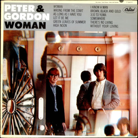 Peter And Gordon - Woman -1966 - pop Vocal (Rare Vinyl)