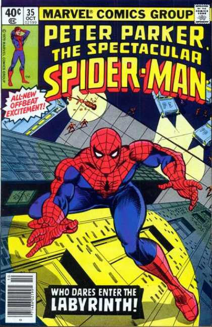 Peter Parker the Spectacular Spiderman 35