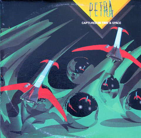 Petra ‎– Captured In Time And Space -2 lps- 1986  Hard Rock, Arena Rock (vinyl)