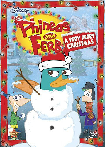 Phineas and Ferb: A Very Perry Christmas - Walt Disney DVD