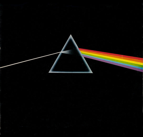 Pink Floyd ‎– The Dark Side Of The Moon -1973 - Psychedelic Rock, Prog Rock (UK Pressing -and 1 -Stickers)