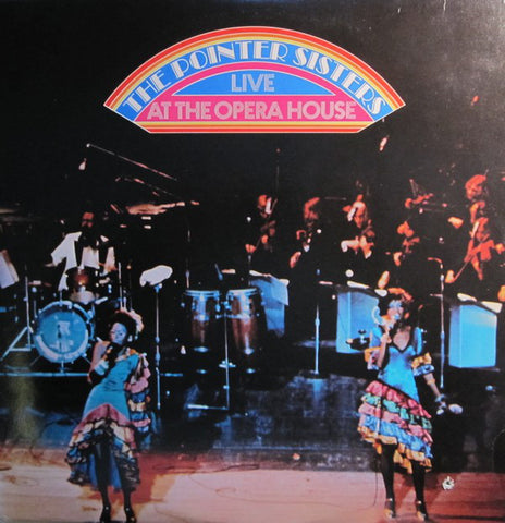 Pointer Sisters ‎– The Pointer Sisters Live At The Opera House - 2 lps - 1974- Soul, Funk (vinyl)