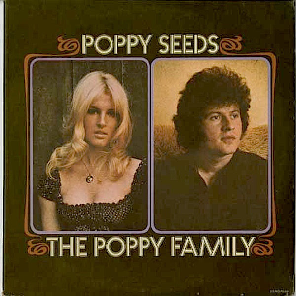 Poppy Family, The ‎– Poppy Seeds -Rare 1971 Pop Rock, Psychedelic Rock ( clearance vinyl )