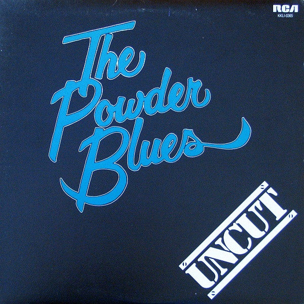 Powder Blues,The  ‎– Uncut -1980 Blues Rock (vinyl)