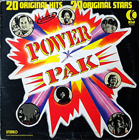 Power Pak -1975 Rock, Funk / Soul, Pop (Vinyl) Styx , BTO, Guess Who , Billy Preston ++