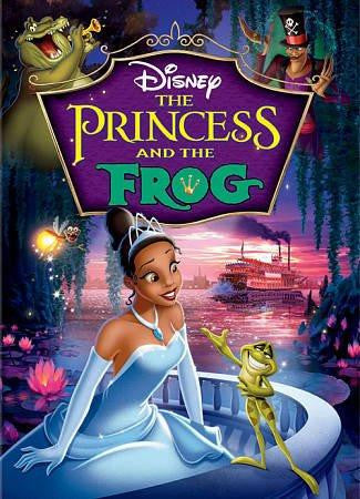 Princess And The Frog ,The DVD (Walt Disney)
