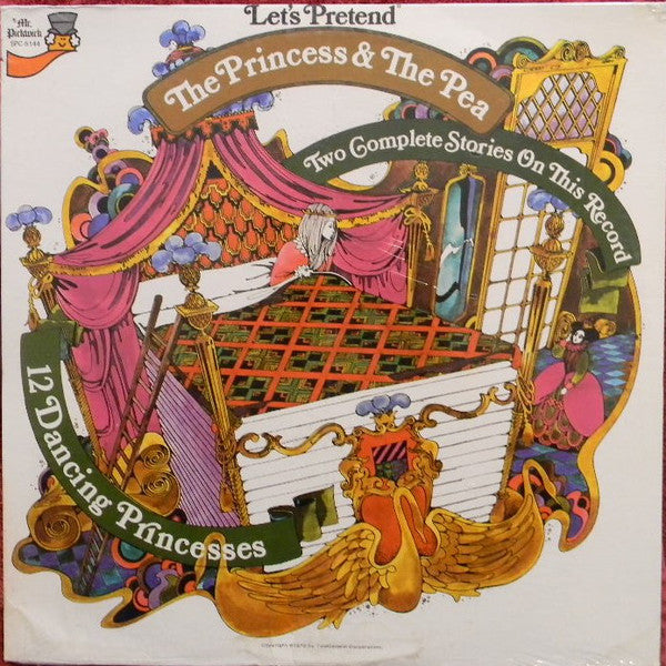 The Princess & The Pea -1970 - Children's Story (vinyl)  New Sealed ( Note Cover condition )