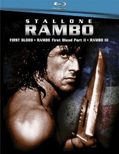 Rambo Triple Feature (Rambo: First Blood / Rambo: First Blood, Part 2 / Rambo 3) [Blu-ray]
