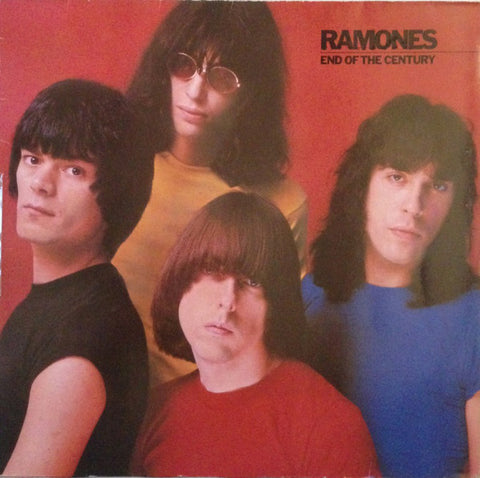 Ramones ‎– End Of The Century - 1980 - Rock , Rock & Roll, Punk (Rare Vinyl)